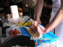 Как приготовить суши дома